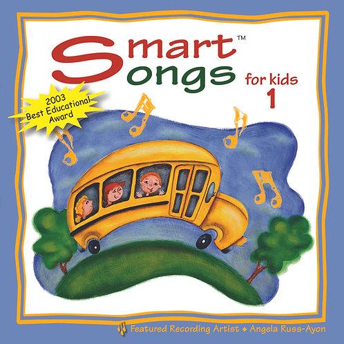 Smart Songs 1 for Kids - Music CD