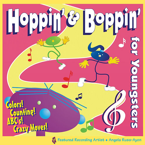 Hoppin' & Boppin' for Youngster - Music CD