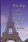 One Step at a Time - Journal (Front and
