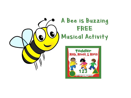 MP3 - A Bee is Buzzing - Download Only