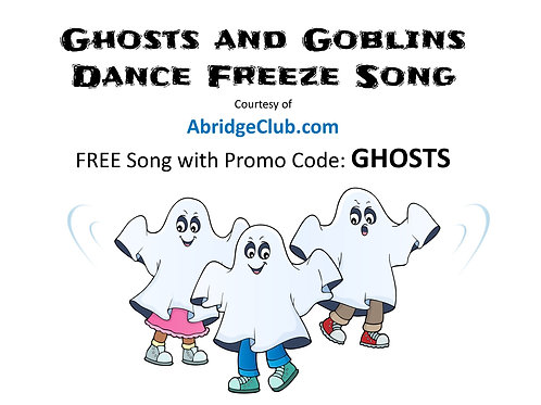 Ghosts and Goblins - Dance Freeze Song