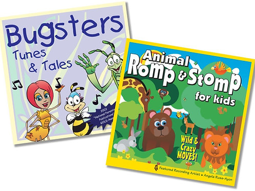 Animal Romp and Bugsters - 2CD COMBO (20%)