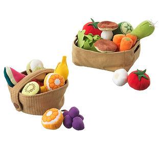 Soft Fabric Food Fruit & Vegetable Baske
