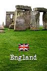 England - Stonehenge - (Front and Back).