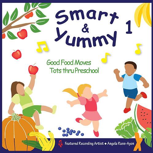Smart & Yummy 1 - Music CD
