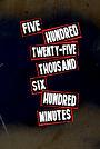 Five Hundred Twenty Five (Black) - RENT
