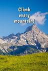 Climb every mountain - Gag Book (Front a