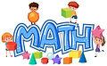 children-on-math-icon-illustration-clip