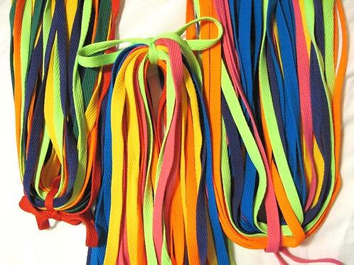 Qty. 24 Activity Laces - Assorted Colors
