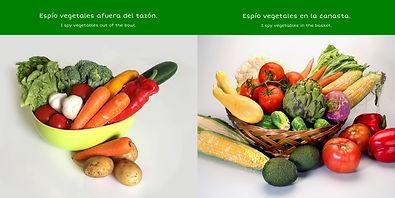 BOOK - I Spy Vegetables (INTERIOR PAGES)