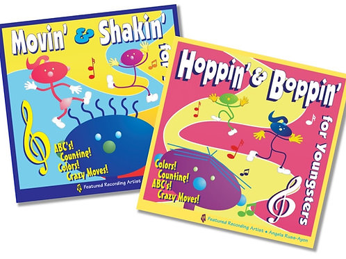 Movin' & Shakin' Series - 2CD COMBO (15%)