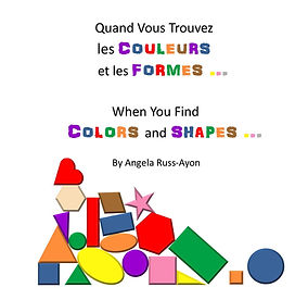 Children's picture Spanish book about shapes and colors