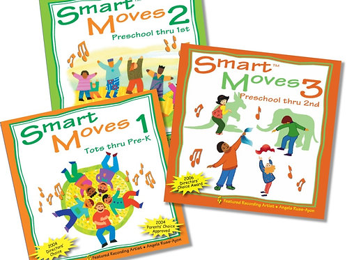 Smart Moves Series - 3CD COMBO (15%)