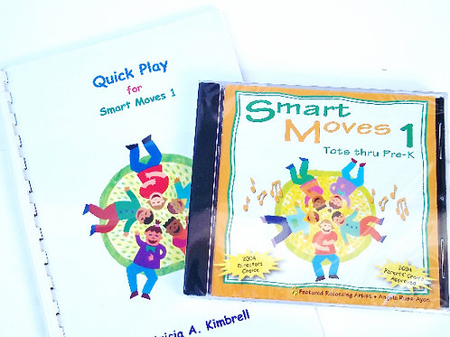 Smart Moves 1 CD and Quick Play Guide Book - COMBO