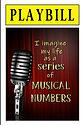 PLAYBILL - I Imagine My Life (Front and