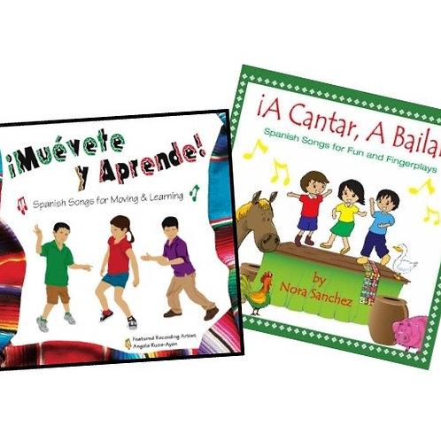 Muévete y Aprende | A Cantar A Bailar - 2CD COMBO (15%)
