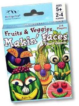 Fruits & Veggies Making Faces - Card Game
