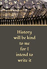 History will be Kind - Type (Front and B