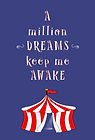 A Million Dreams - Tent (Front and Back)