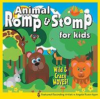 AbridgeClub.com | Animal Romp & Stomp CD | Music & Movement | Preschool | Early Childhood | STEM