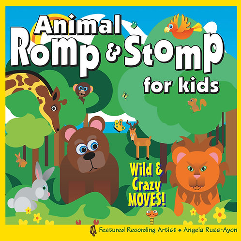 Animal Romp & Stomp - Music CD