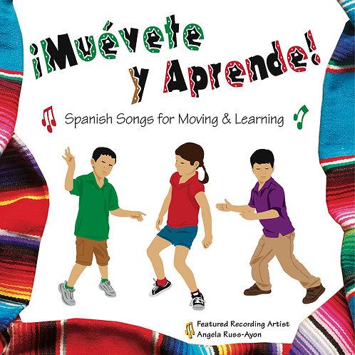 Muévete y Aprende - Music CD