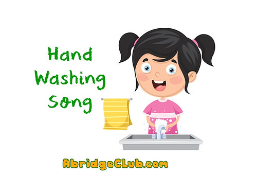 MP3 - I Wash My Hands - FREE with Promo CODE: WASH - Song Download Only