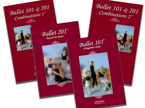 Beginning Ballet Instructional Series - Set of 4 DVDs
