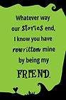 Whatever Way Our Stories (Green)- Gag Bo