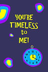 You are timeless to me - Gag Book (Front
