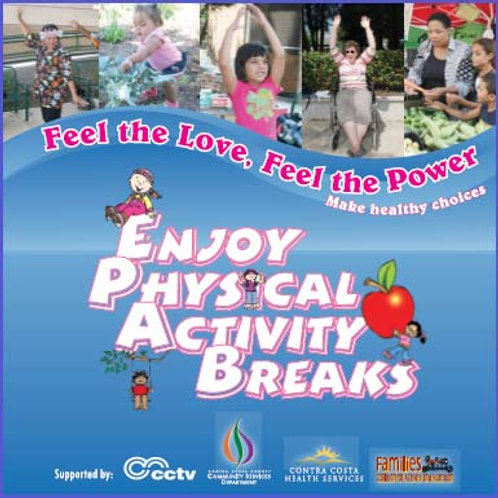 WIC - Enjoy Physical Activity Breaks - DVD