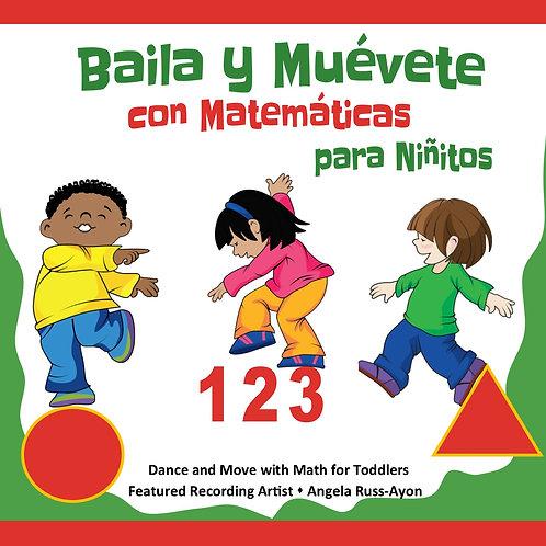 Baila y Muévete con Matematicas para Niñitos
