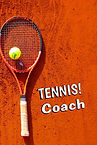 Tennis Coach  - Gag Book (Front and Back