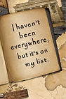 Haven't Been Everywhere - Gag Book (Fron