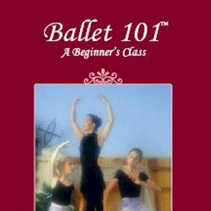 Ballet 101: A Beginner's Class - DVD