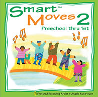AbridgeClub.com | Smart Moves 2  CD | Music & Movement | Preschool | Early Childhood
