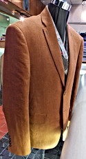 brown business suit