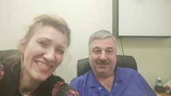 с профессором Араблинским А.В.