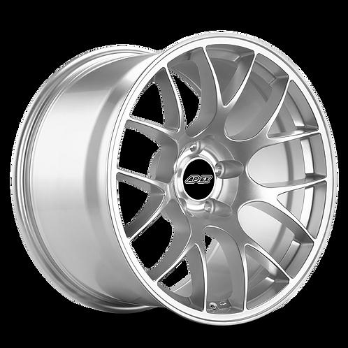 APEX EC-7 19x10.5 5x120 ET45 - Race Silver