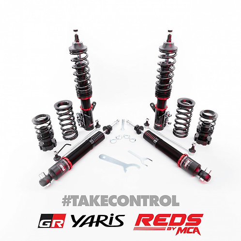 Coilover REDS by MCA Suspension - Wiborg Engineering Spec