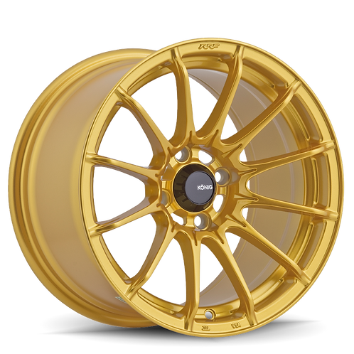 Dial In 15x7.0 4x100 ET35 - Gloss Gold