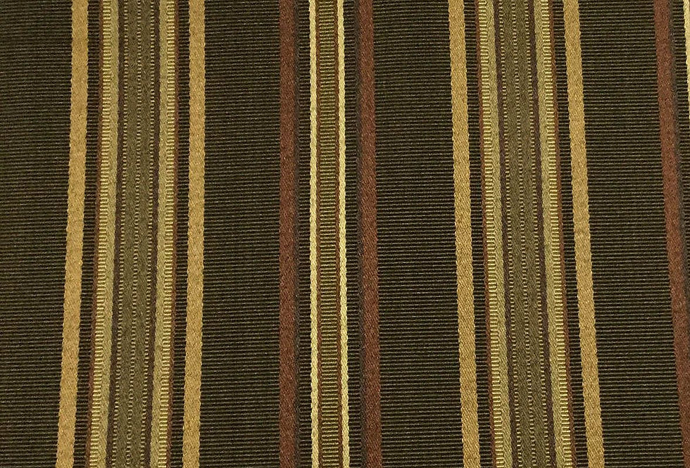 Shades of Brown Ribbed Stripe