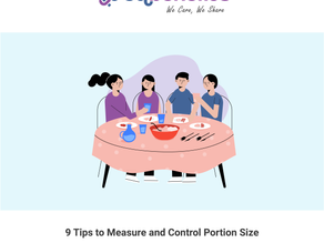 9 Tips to Measure and Control Portion Sizes