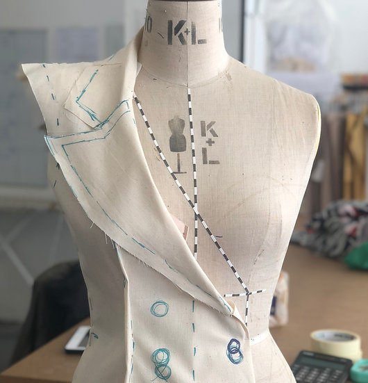 Draping -Creating garments on the stand