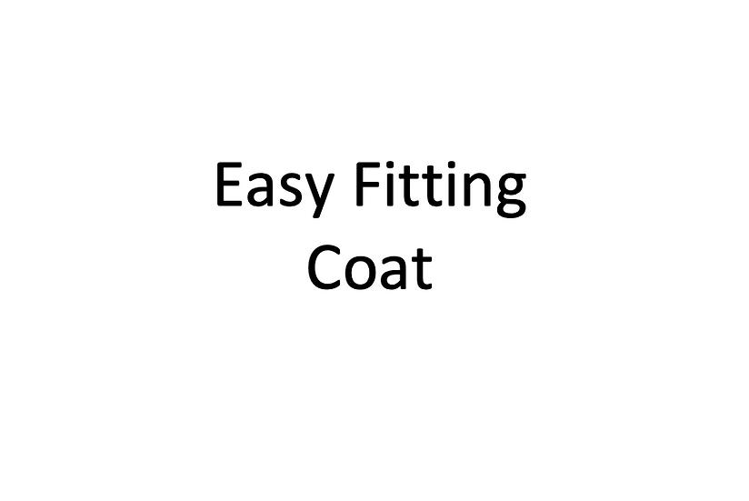 Easy Fitting Coat (Male)