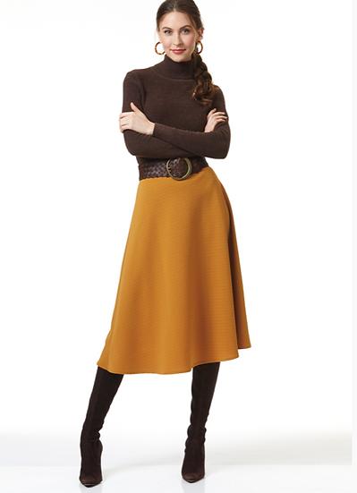 Stretch Fabrics - Flared Skirt