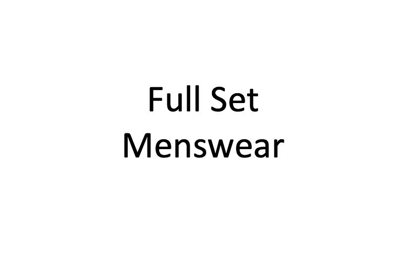 Full Set: Menswear Blocks