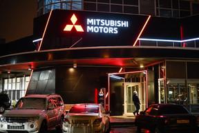 Оформление дилерских центров Mitsubishi