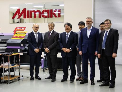 Руководство компаний Mimaki и Смарт-Т