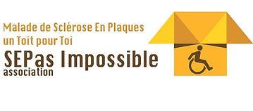 Logo Malade de Sclérose en plaques - un Toit pour toi - SEPas Impossible association